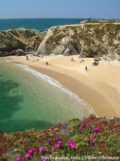 Praia do Buinhos, Porto Côvo, Sines, Portugal Portugal Vacation, Places In Portugal, Visit Portugal, Portugal Travel, Spain And Portugal, Algarve, Places Around The World, Around The Worlds, Places To Travel
