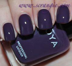 Zoya Monica From Scrangie: Zoya Designer Collection Fall 2012 Swatches and Review