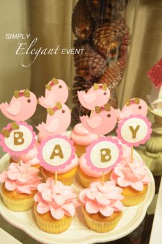 Beautiful Birdie Baby Showers