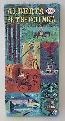 1962 Esso Southwest Germany Vintage Road Map • $7.99 • PicClick
