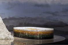 Furniture design marble tables by Lex Pott