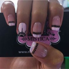 Mistica Nails Spa Love Nails, Fun Nails, Pretty Nails, Beautiful Nail Designs, Cute Nail Designs, Fabulous Nails, Perfect Nails, Hello Nails, Summer Acrylic Nails