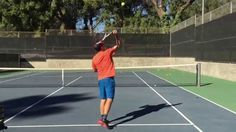 Killer Slice Serve- Simple, step by step guide! Begin at 1:45 for the in...