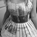 Tutorial to make a newspaper dress