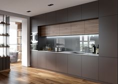 kitchen style are readily available on our web pages. Home Decor Kitchen, Minimal Kitchen Design, Kitchen Design Trends, Kitchenette Design, Kitchen Redesign, Kitchen Room Design, Latest Kitchen Designs, Galley Kitchen Design, Kitchen Design