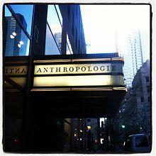 Anthropologie - Wikipedia, the free encyclopedia