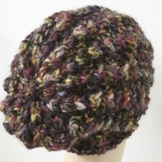 The relaxed fit and softness of this knit hat pattern is sure to make this adorable little cap your new favorite accessory.