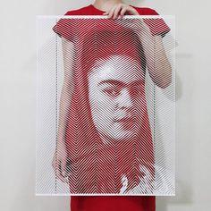 Hand Cut Photorealistic Paper Portraits by Yoo Hyun   http://www.yellowtrace.com.au/yoo-hyun-paper-portraits/