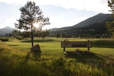 Big Sky, MT - a golfer's paradise.