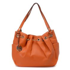 f548db6bb5 Latest Michael Kors Chain Ring Large Orange Shoulder Bags Nordstrom I think  i need this