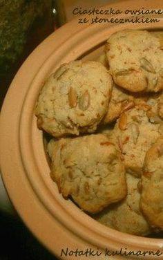Zdjęcie: Ciasteczka owsiane ze słonecznikiem Cookies, Meat, Chicken, Desserts, Clever, Food, Crack Crackers, Tailgate Desserts, Deserts