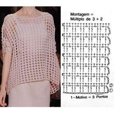 Pull Crochet, Gilet Crochet, Mode Crochet, Hippie Crochet, Crochet Diy, Crochet Cardigan, Crochet Instructions, Crochet Diagram, Crochet Chart