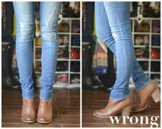 The Do's and Don'ts of Cuffing Your Jeans with Ankle Boots (Part 1)