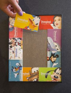 """If a picture says a thousand words, I say a picture frame can say a thousand more. In this new """"Show Your DIY Disney Side,"""" I'm making quick and easy photo mats using Disneyland Resort tickets and guide maps."""