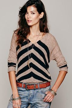 Need this chevron sweater