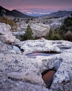 ✯ Idaho - Granite Formations, City of the Rocks Nature Reserve, often called the Silent City of the Rocks