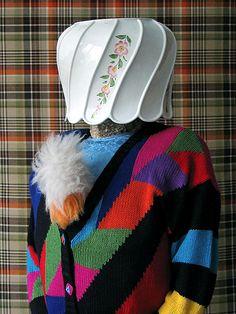 el té inglés de las 5  (Patterns Mask-Thorsten Brinkmann: Post-Dada-Objet-Trouvé Portraits)