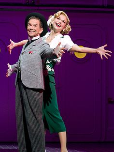 Sutton Foster and Joel Grey in Anything Goes. premieres January 2015 on TV Land. Visit us at premieres January 2015 on TV Land. Theatre Nerds, Music Theater, Anything Goes Musical, Joel Grey, Broadway Theatre, Broadway Plays, Broadway Costumes, Sutton Foster, Theatre Reviews