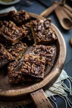 Maple, Pecan, & Butternut Squash Shortbread Bars | Adventures in Cooking
