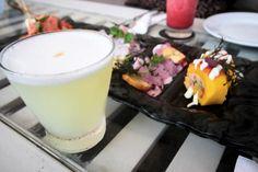 Almorzando en Cala restaurant Peru Soy Tendencia en peru Cala, Glass Of Milk, Panna Cotta, Ethnic Recipes, Food, Trends, Dulce De Leche, Meals, Yemek