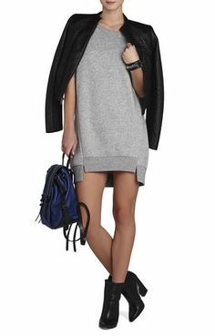 Isabella Long Tunic Sweatshirt | BCBG