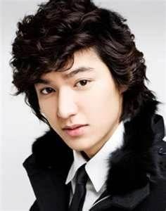 Lee Minho - curly locks!