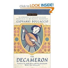 The Decameron, by Boccaccio. Love it.