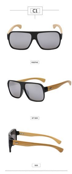 c2354c672d0 Max glasiz New 2016 Bamboo Frame Square Wooden Sunglasses Men Retro Vintage  Eyewear Unisex Male Glasses