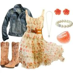 Find More at => http://feedproxy.google.com/~r/amazingoutfits/~3/O6OweQr1k0M/AmazingOutfits.page #country_style_dress