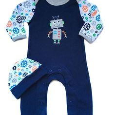 All Cotton Jumpsuit by Luvable friends in a Gift box. It