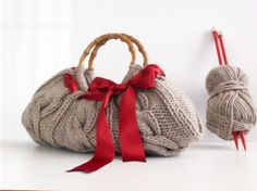 borsa con fiocco