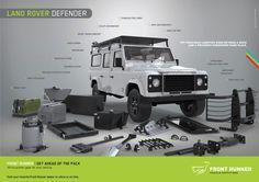 Land Rover Defender Front Runner