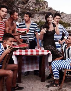 Dolce & Gabanna campaign with Monica Bellucci