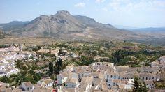 View from Velez Blanco Castle, Almeria, Spain.