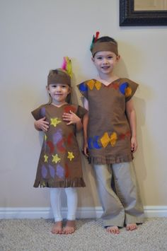 Indian Costumes for Gracie's school play