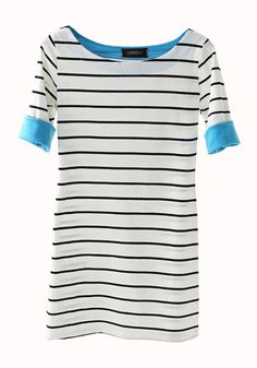Definitely need a solid, high quality striped tee! (inspiration only: sold out on site)
