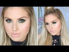 Seductive Green Eyeshadow ♡ Perfect For Green, Hazel & Brown Eyes! - YouTube