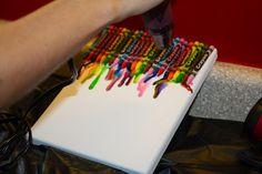 rainbow crayon craftiness