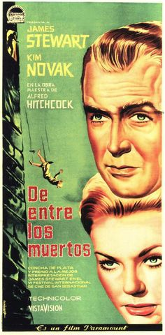 "Movie Poster of the Week: Alfred Hitchcock's ""Vertigo"" on Notebook 