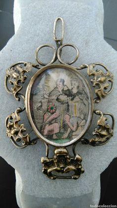 RELICARIO ANTIGUO DE PLATA DORADA SIGLO XVII - Foto 1 Rosaries, Steampunk Fashion, Bracelet Watch, Nostalgia, Antiques, Bracelets, Accessories, Style, Saints