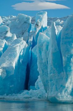 glacier grey, Chile