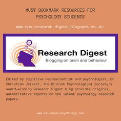 Keeping you up-to-date with the latest psychology research. Psychology Resources, Psychology Research, Psychology Student, Dr Christian, Psych Major, Forensic Science, Forensics, Criminal Justice, Research Paper