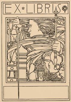 Art-exlibris.net - ex libris di Carlo Parmeggiani per? Vor der Schrift