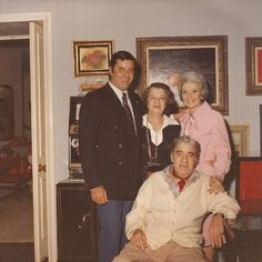 Jerry Lewis with parents & Patti