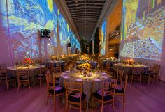 Gala event decor Chicago. HMR Designs' decor and floral design for social events, galas, and fundraisers will help make them affairs to remember.