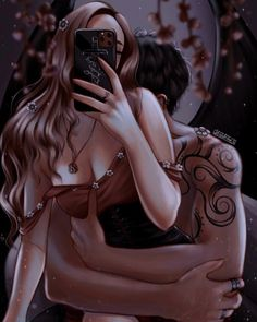 A Court Of Wings And Ruin, A Court Of Mist And Fury, Throne Of Glass, Fanart, Anime Couples, Cute Couples, Romance Paranormal, Roses Book, Feyre And Rhysand