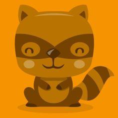 Cute Raccoon / TotallyJamie