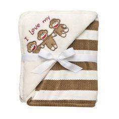 Baby Starters Sock Monkey Striped Blanket, Tan Baby Starters,http://www.amazon.com/dp/B00A4AUVVY/ref=cm_sw_r_pi_dp_p3Ogtb0APB3XR9SF