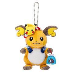 Pokemon Center Original Mascot Omatsuti Festival Raichu Toy from Japan  #PokemonCenter