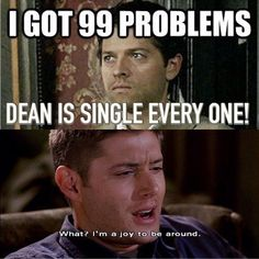 Supernatural meme made by Krysta Taylor .. Haha, back in the Michael vs. Lucifer days ;)